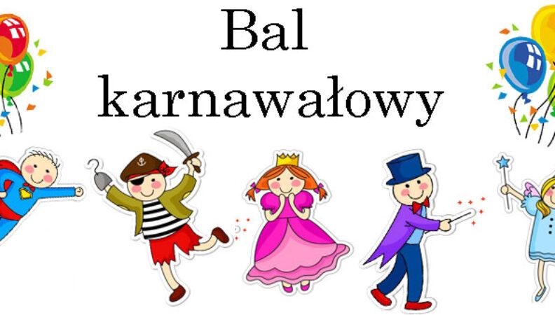 Zaproszenie Na Bal Karnawałowy Przedszkole Nr 15
